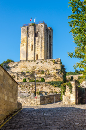 roy: View at the Tower of Roy in Saint Emilion