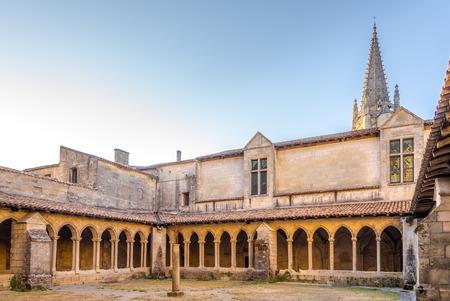 saint emilion: Vestibul of Cloister in Saint Emilion in France