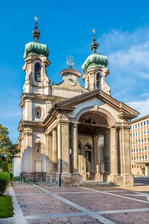 johannes: Church of Johannes Nepomuk in Innsbruck ,Austria