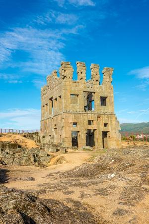 Centrum Cellas tower in Colmeal da Torre near Belmonte town in Portugal