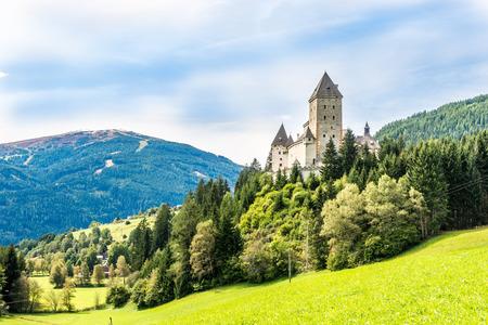 View at the Moosham castle in Austria