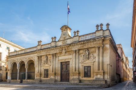 Old City hall at the Asuncion square in Jerez de la Frontera - Spain