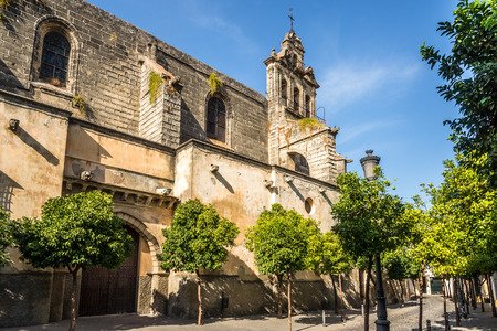 View at the church of San Marcos in Jerez de la Frontera - Spain