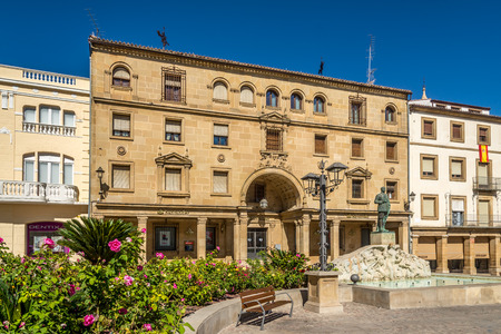 UBEDA,SPAIN - OCTOBER 2,2017 - At the place of Andalusia in Ubeda. Ubeda possesses 48 monuments, and more of another hundred of buildings of interest, almost all of them of Renaissance style.