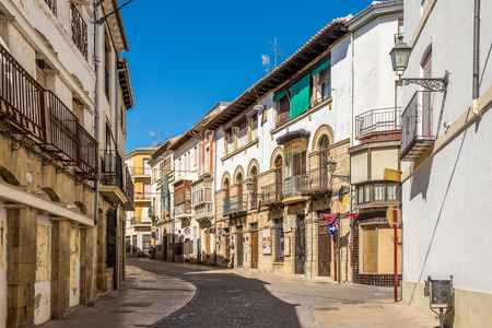 UBEDA,SPAIN - OCTOBER 2,2017 - In the streets of Ubeda. Ubeda possesses 48 monuments, and more of another hundred of buildings of interest, almost all of them of Renaissance style. Editorial
