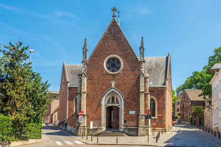 View at the Church Of Saint Anton in Leuven, Belgium
