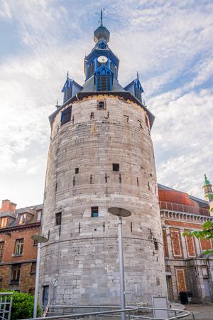 Widok na dzwonnicę miasta Namur - Belgia