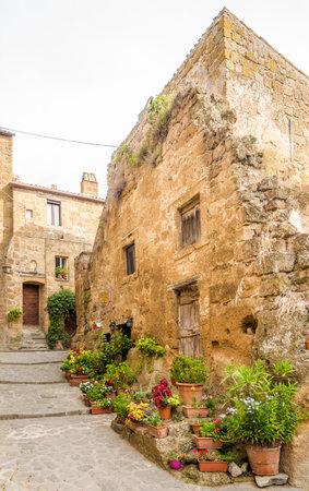 In the streets of Civita di Bagnoregio - Italy