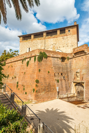 View at the Old City Fortification in Grosseto, Italy