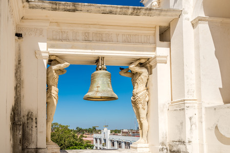 View at the Bell of Basilica of Assumption of the Blessed Virgin Mary in Leon, Nicaragua