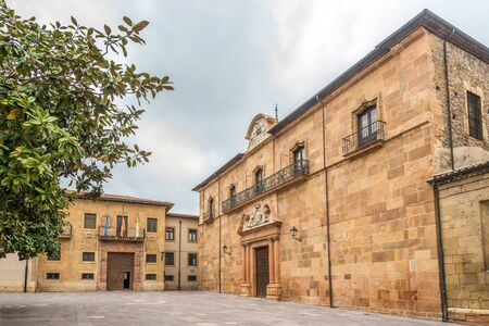 View at the Archbishop Office in Oviedo, Spain