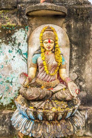 Parvati - Hindu goddess of fertility, love, beauty, marriage, children, and devotion - India,Puri,Odisha