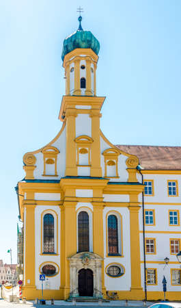 View at the Chuch of St.Ursula in Neuburg an der Donau - Germany
