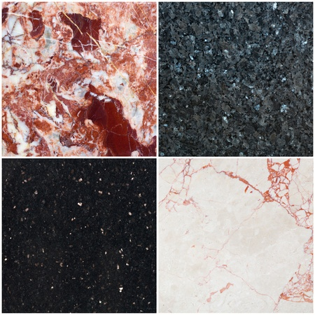 background from diferent marble with pattern  Stock Photo