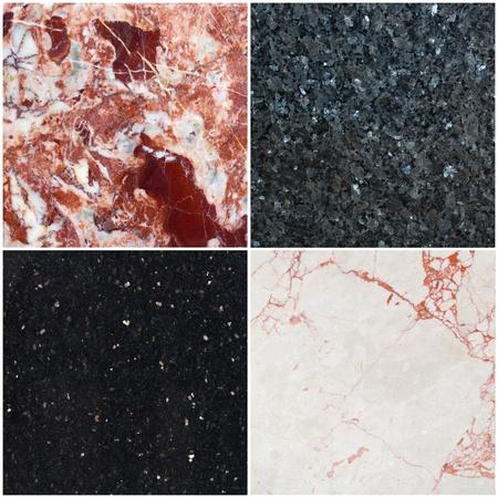 bakgrund från diferent marmor med mönster
