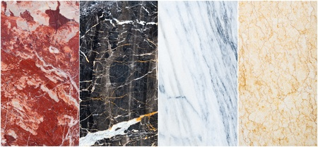 granite wall: background from diferent marble with pattern  Stock Photo