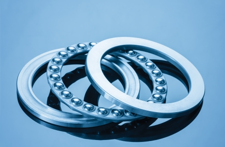 ball bearings blue toning idea photo