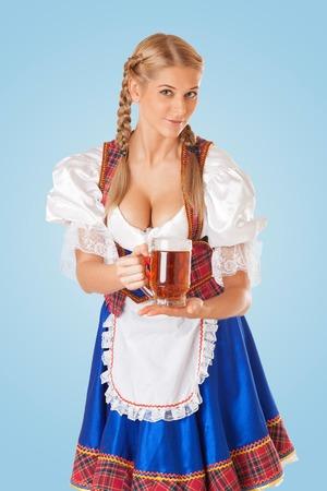 Sexy dirndel German Dirndl,