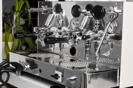 Beautiful Italian espresso machine photo