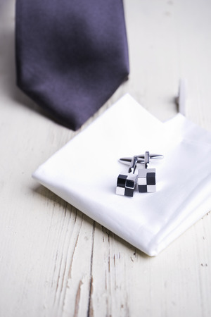 accesories: Men accesories on white wooden table