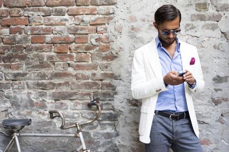 Mens style.  Stock Photo