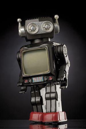 vintage toy robot Stock Photo - 428852