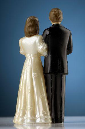 wedding figurines Stock Photo - 475023