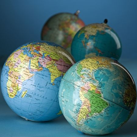 parallel world: four globes
