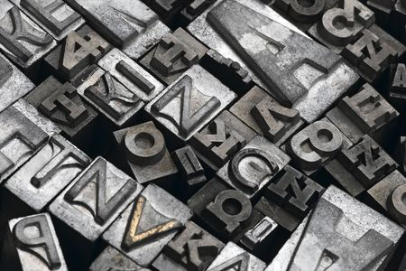 typeset: lead letters typeset