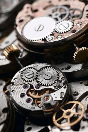 clock mechanism Stock Photo - 777432