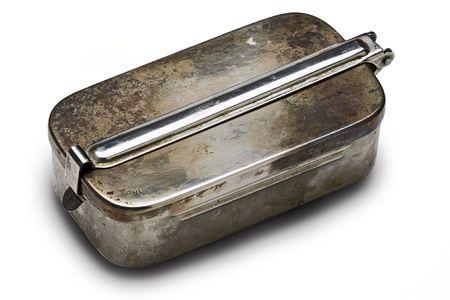 inox: vintage inox soap box