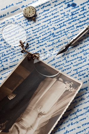 recollection: an old letter and other souvenirs