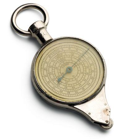 mesure: analog map distance mesure instrument Stock Photo