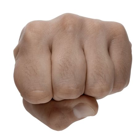 aggressiveness: fist - isolated