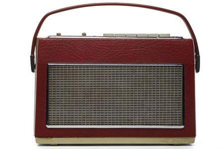 transitor: cosecha de radio de transistores en blanco