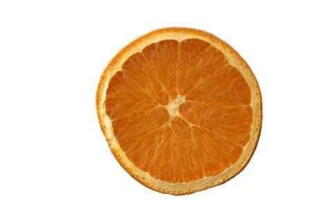 orange isolated on white Stock Photo