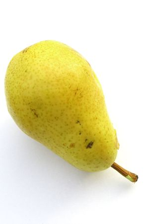 pear on the white background Stock Photo