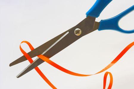 scissors on the white background Stock Photo - 6383913