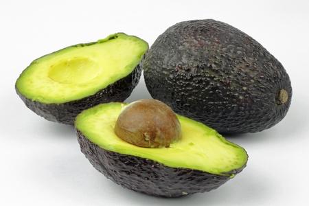 avocado on the white background Stock Photo