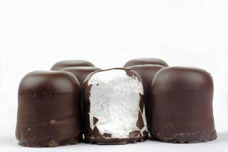chocolate covered marshmallows  german schokokuss