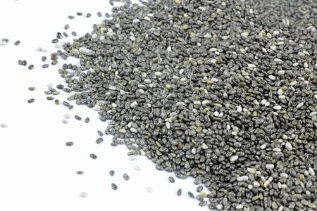 Salvia hispanica chia seeds