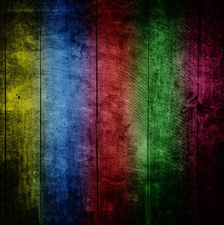 Multicolored old scratched grungy background photo