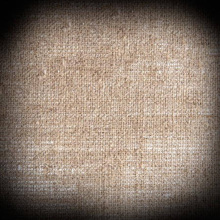 Close up of old canvas texture, useful as background photo