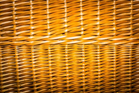 mimbre: Wicker background in close up. Wicker basket surface.