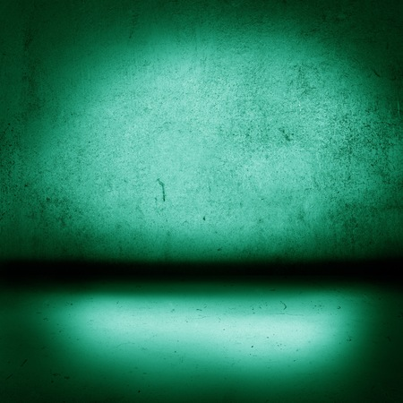 unspecified: Grunge colorful background, interior with floor and wall in the same vibrant color