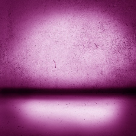 vibrant color: Grunge colorful background, interior with floor and wall in the same vibrant color