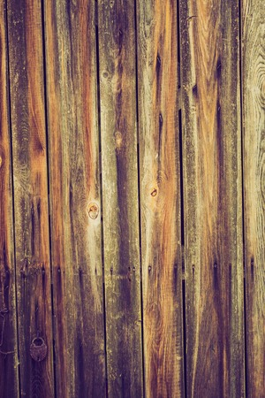 lomography: Old wooden wall background with vintage effect.