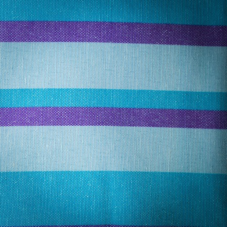Striped textile background. Close up of linen burlap with stripes.