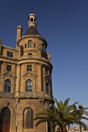 haydarpasa: Tower Of Haydarpasa Station in Istanbul Turkey 1