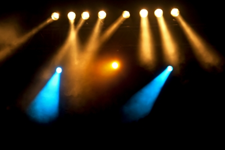 Spotlights,Lights at the Stage or Concert Stock Photo - 14620897